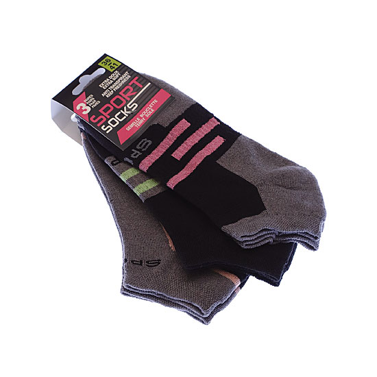 socquettes invisibles sneakers extra doux Femme, Fille - Sport socks SSTSA Vue annexe