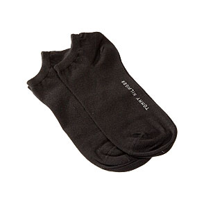 Chaussettes invisibles - coton fin Femme Tommy Hilfiger Vue subsidiaire