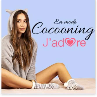 chaussettes chaussons cocooning