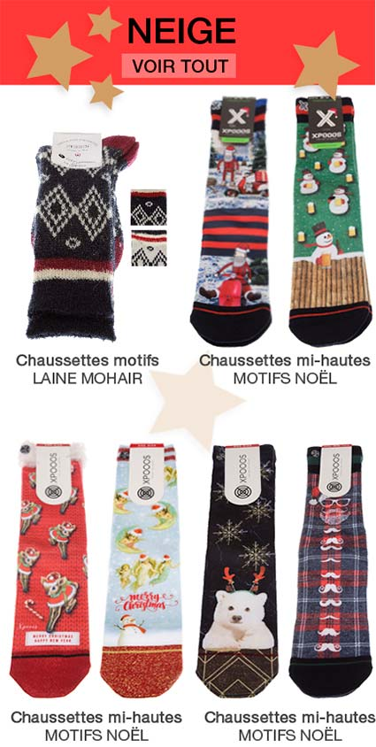 chaussettes neige